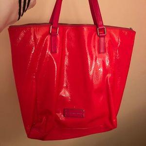 Neon pink marc my marc jacobs handbag